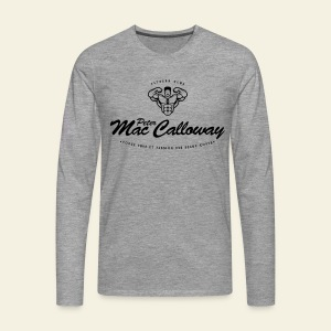 Peter Mac Calloway Fitness - Tour Montparnasse Infernale - T-shirt manches longues Premium Homme