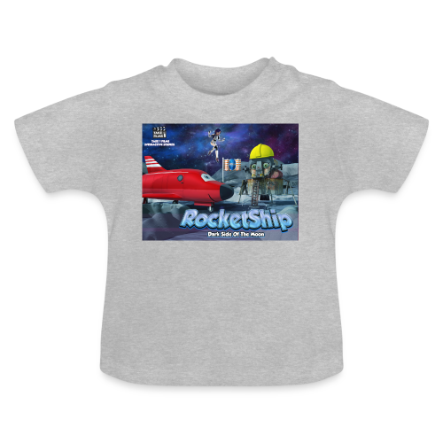 RocketShip T-Shirt - Dark Side Of The Moon- Kids' Premium T-Shirt - Baby T-Shirt