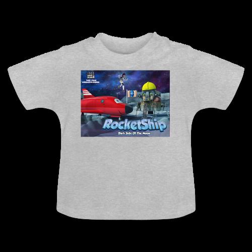 RocketShip T-Shirt - Dark Side Of The Moon- Kids' Premium T-Shirt - Baby T-Shirt