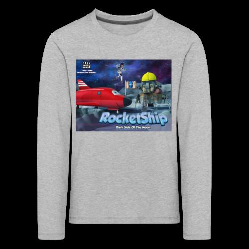 RocketShip T-Shirt - Dark Side Of The Moon- Kids' Premium T-Shirt - Kids' Premium Longsleeve Shirt