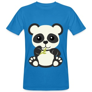 Kawaii Cute Panda Bear Cub - Men's Organic T-shirt