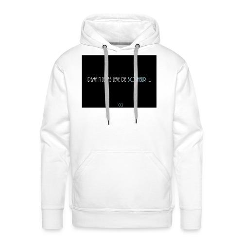Demain - Sweat-shirt à capuche Premium pour hommes