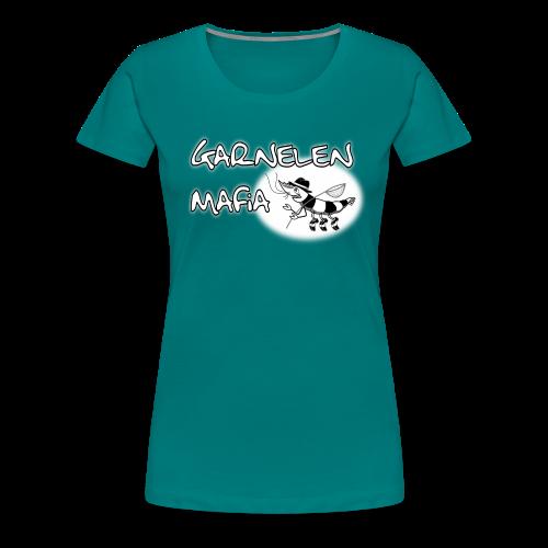 T-Shirt mit Logo (B&C) - Frauen Premium T-Shirt