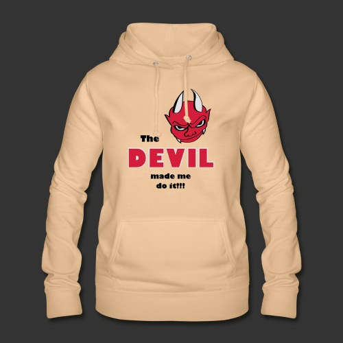 Devil made me do it - Frauen Hoodie