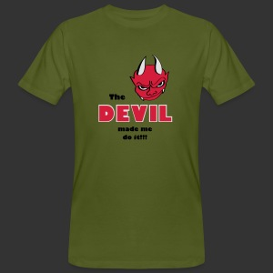 Devil made me do it - Männer Bio-T-Shirt