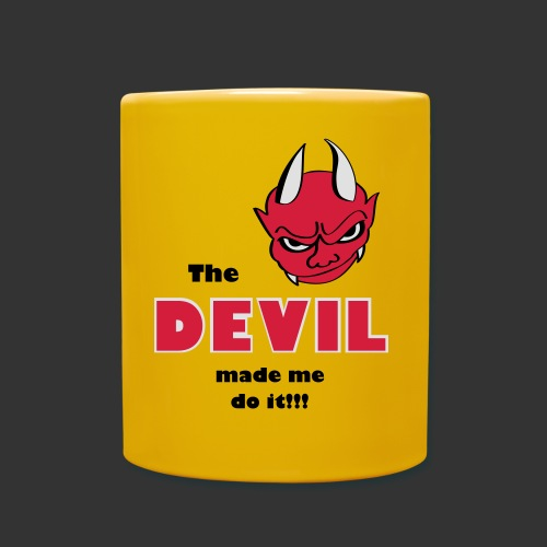 Devil made me do it!