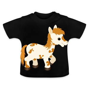 Cute Appaloosa Pony Horse - Baby T-Shirt