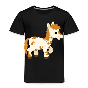 Cute Appaloosa Pony Horse - Kids' Premium T-Shirt