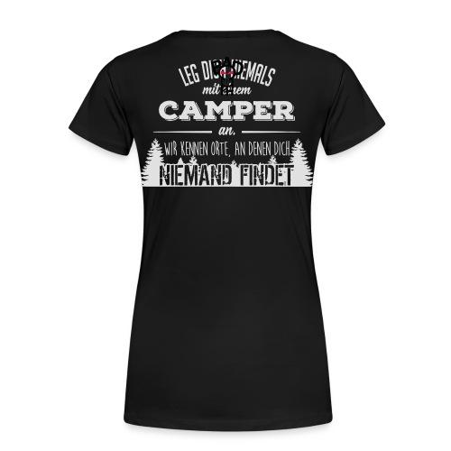 Camper Hoodie Damen weiß - Frauen Premium T-Shirt