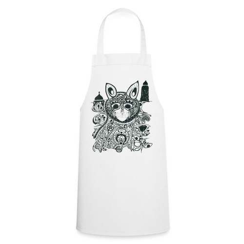The Heart Is A Golden Fractal - Cooking Apron