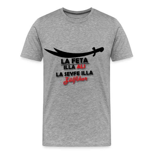ZÜLFIKAR SWEATER - Männer Premium T-Shirt