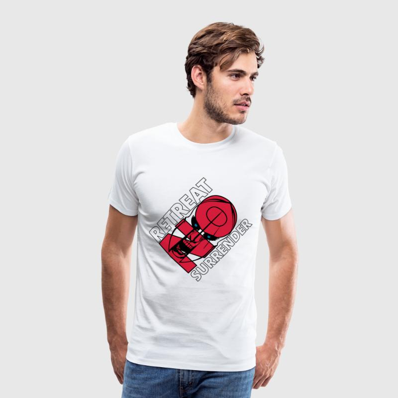 No Retreat No Surrender T-Shirts - Männer Premium T-Shirt
