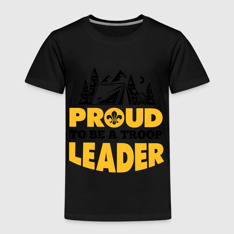 Scout: Proud to be a troop leader Shirts - Kids' Premium T-Shirt