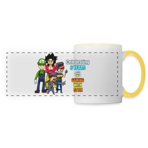 6 Years of Gaming (Celebration Mug) - Panoramic Mug