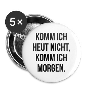 Buttons groß 56 mm