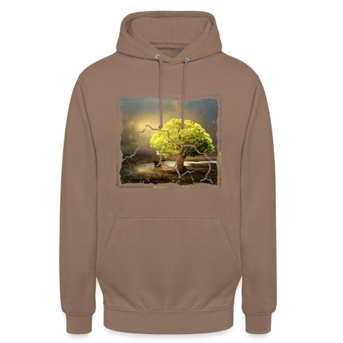 Broken Tree - Dennis Petersen Show - Unisex Hoodie