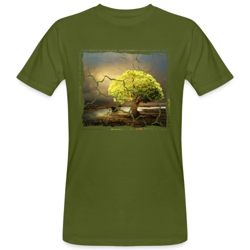 Broken Tree - Dennis Petersen Show - Männer Bio-T-Shirt