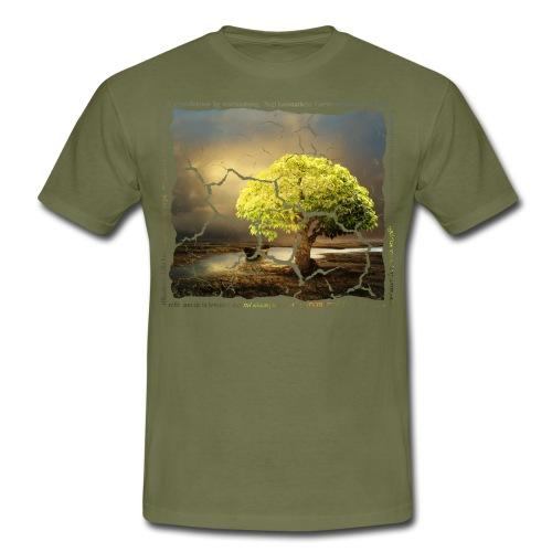 Broken Tree - Dennis Petersen Show - Männer T-Shirt