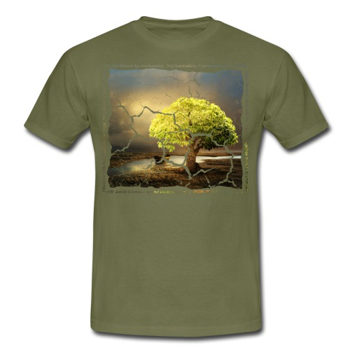 Broken Tree - Dennis Petersen Show - Männer T-Shirt