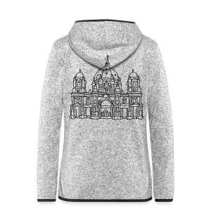 Berlin Cathedral - Women's Hooded Fleece Jacket