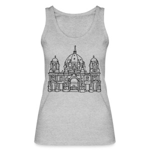 Berlin Cathedral - Women's Organic Tank Top by Stanley & Stella