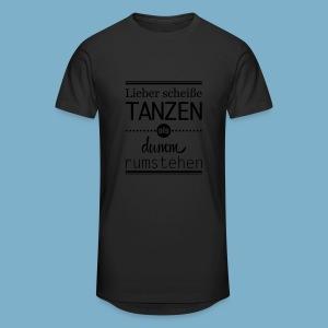 Tanz Shirt - Männer Urban Longshirt
