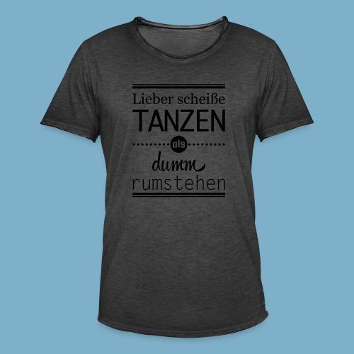 Tanz Shirt - Männer Vintage T-Shirt