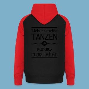 Tanz Shirt - Unisex Baseball Hoodie