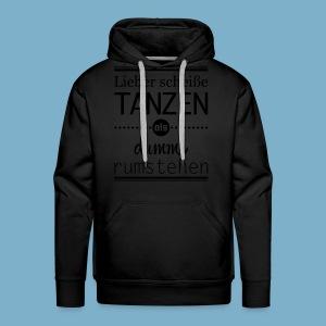 Tanz Shirt - Männer Premium Hoodie