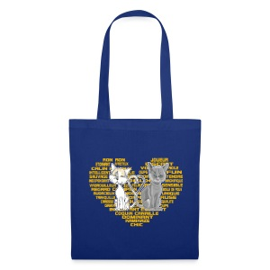 Cœur de chat (or) - Tote Bag