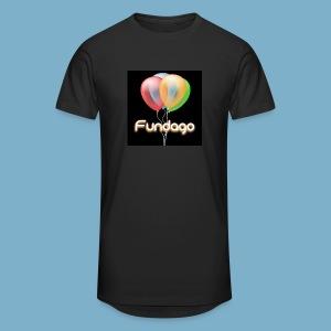Fundago Ballon Motive - Männer Urban Longshirt