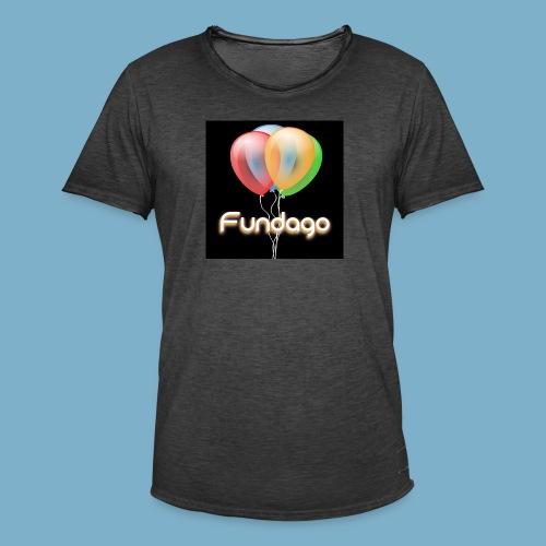 Fundago Ballon Motive - Männer Vintage T-Shirt
