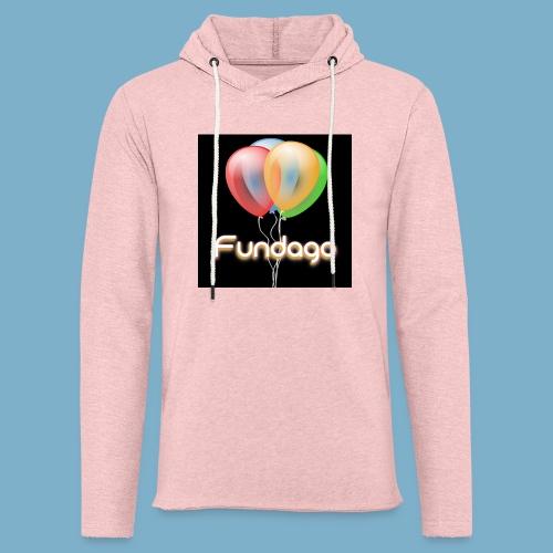 Fundago Ballon Motive - Leichtes Kapuzensweatshirt Unisex