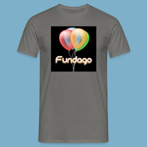 Fundago Ballon Motive - Männer T-Shirt