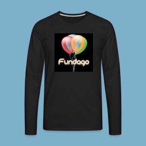 Fundago Ballon Motive - Männer Premium Langarmshirt