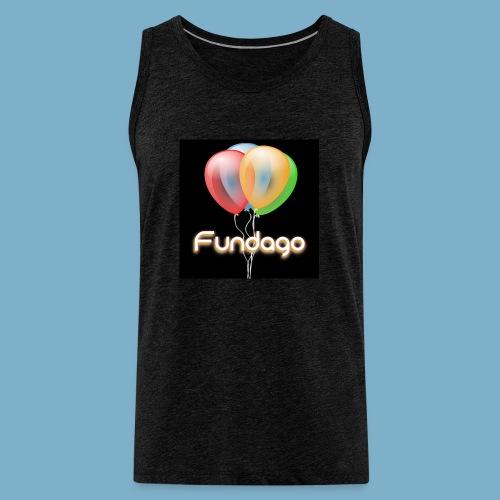 Fundago Ballon Motive - Männer Premium Tank Top