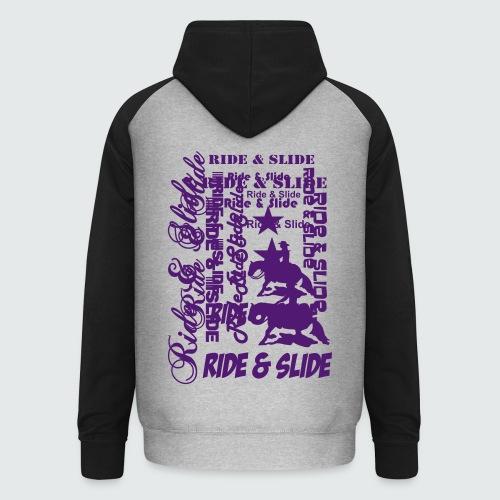 Motiv-153-Hellblau - Unisex Baseball Hoodie