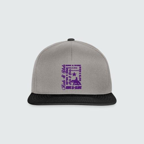 Motiv-153-Hellblau - Snapback Cap