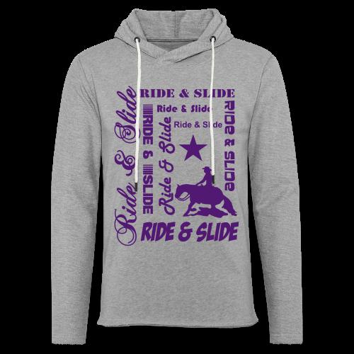 Ride & Slide - Leichtes Kapuzensweatshirt Unisex