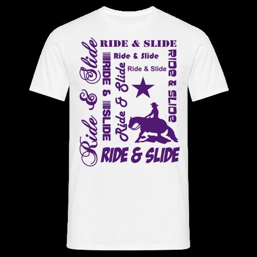 Ride & Slide - Männer T-Shirt