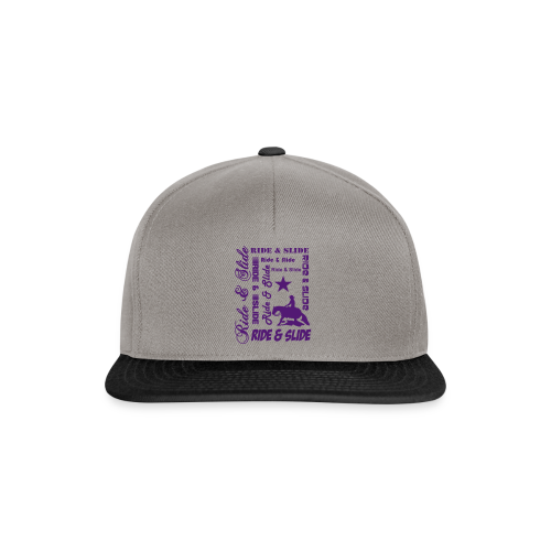 Ride & Slide - Snapback Cap