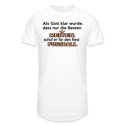 Reiten & Fussball - Männer Urban Longshirt