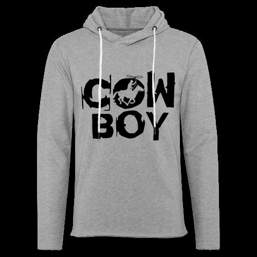 Cowboy - Leichtes Kapuzensweatshirt Unisex