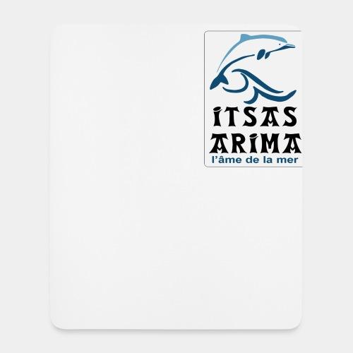 Logo Itsas Arima - Tapis de souris (format portrait)