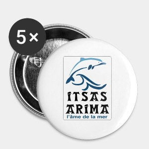Logo Itsas Arima - Badge grand 56 mm
