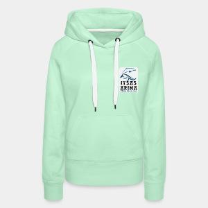 Logo Itsas Arima - Sweat-shirt à capuche Premium pour femmes