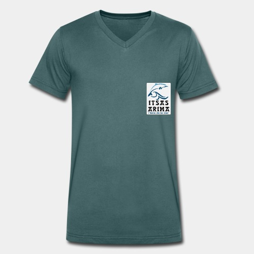 Logo Itsas Arima - T-shirt bio col V Stanley & Stella Homme