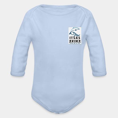 Logo Itsas Arima - Body bébé bio manches longues