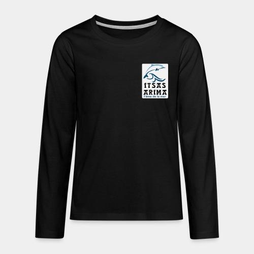 Logo Itsas Arima - T-shirt manches longues Premium Ado