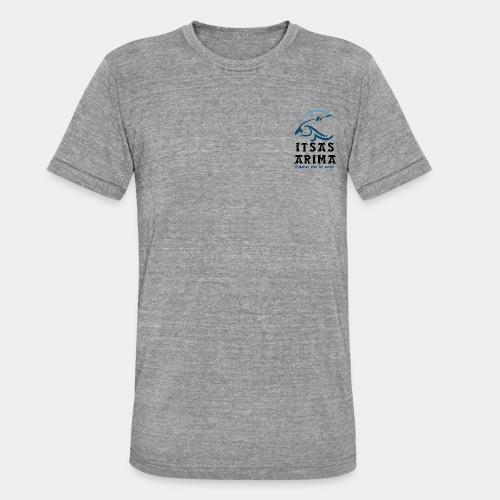 Logo Itsas Arima - T-shirt chiné Bella + Canvas Unisexe